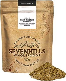Sevenhills Wholefoods Proteína De Cáñamo Cruda En Polvo Orgánico (3kg)
