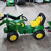 Rolly Toys 408955 RollyTrac Lader Premium RollyToys RollyTrac Lader Vert Front-Load pour Enfants de 3 /à 10 Ans