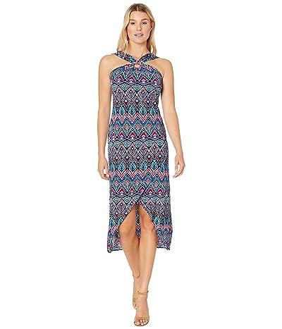 Tommy Bahama Prima Peacock Maxi Dress (Amalfi Sea) Women