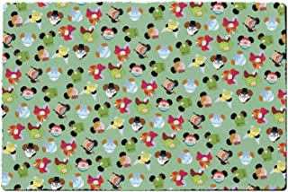 Rainbow Rules Indoor Doormat - Peter Pan Mouse Ears Disney Inspired