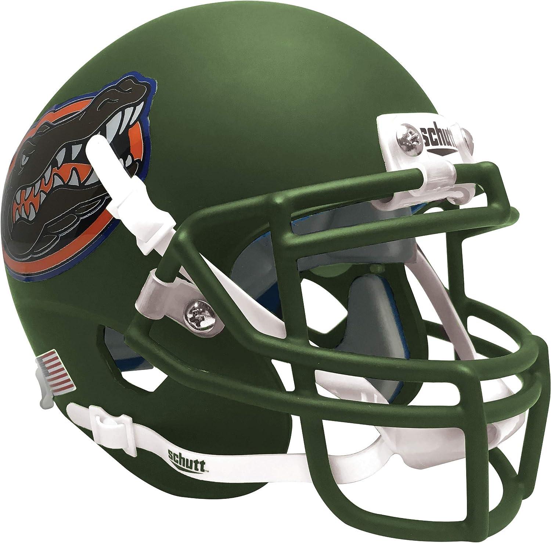 Max 68% OFF Schutt NCAA In a popularity Florida Gators Mini Helmet Authentic Football XP