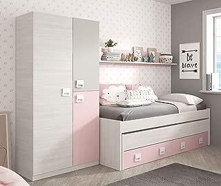 Miroytengo Pack Dormitorio Infantil Juvenil Cama Nido con