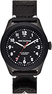 (111) Field Watch No. 1 Sustainably Crafted Steel and Recycled Nylon Casual Solar Watch