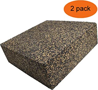 BXI - Anti Vibration Isolation Pads - Composed of Rubber & Cork - Thick & Heavy - 6'' X 6'' X 2'' (2 PACK)