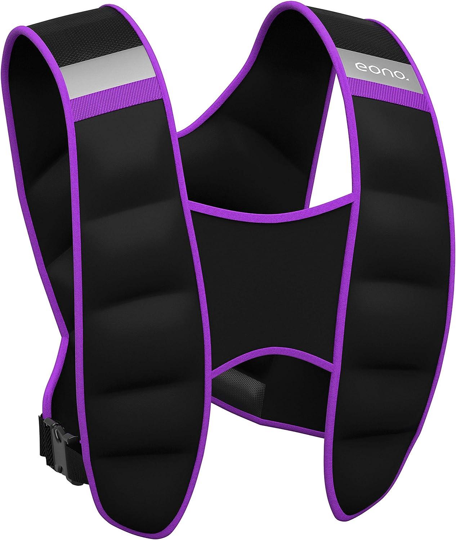 Eono by 8KG,10KG para Crossfit Ejercicios de Fuerza Chaleco Lastrado para Correr Weighted Vest 5kg