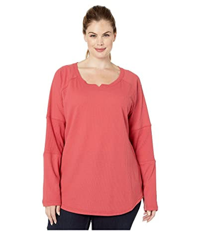 Columbia Plus Size Fall Pinetm Washed Crew (Daredevil) Women