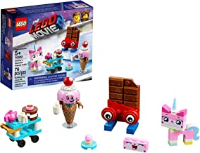 LEGO THE LEGO MOVIE 2 Unikitty's Sweetest Friends EVER! 70822 Pretend Play Food and Friends Building Kit for Girls and Boys, Unikitty LEGO Set, 2019 (76 Pieces)