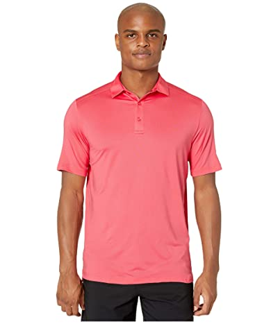 Callaway Opti-Dritm Micro-Hex Solid Polo (Sunkist Coral) Men