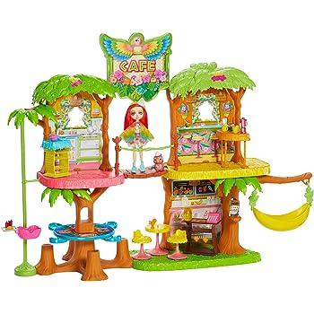 Bambola Danessa e il Suo Amico Cuc Enchantimals Casa dei Cerbiatti a Tre Stanze