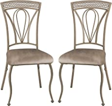 Hillsdale Furniture Dining Chairs (Set Of 2), Aged Ivory