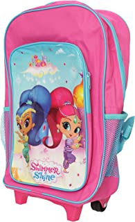 Shimmer And Shine Girls Backpack Suitcase