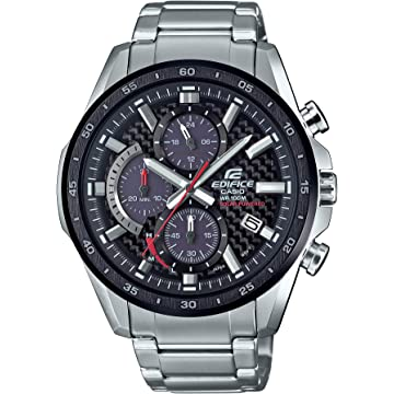 Casio Edifice Quartz Men's Watch With Stainless-Steel Strap