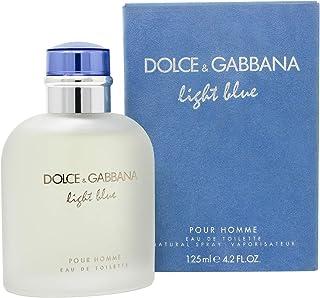 Dolce And Gabbana Light Blue Eau de Toilette Spray for Men 4.2 Fl Oz