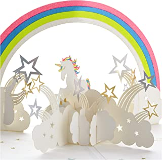 Hallmark Signature Paper Wonder Pop Up Birthday Card (Unicorn, You are Magical)