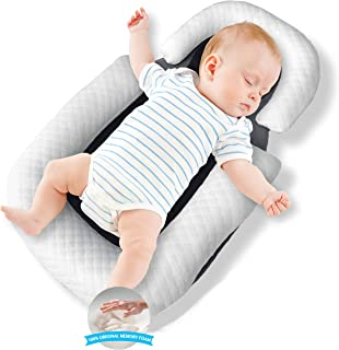Sponsored Ad - Baby Nest Original Baby Lounger Baby Pillow Portable Bassinet Baby Bed Baby Cocoon Travel Crib Co Sleeping ...