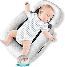 وسادة اطفال اصلية بتصميم عش، سرير محمول لحديثي الولادة، مهد اطفال بشكل شرنقة للسفر، سرير للاطفال حديثي الولادة، وسادة لدعم...