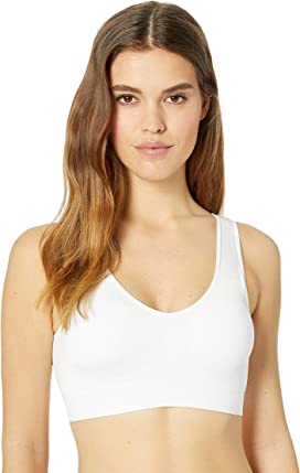 f62c1e3d16a014 Jockey Natural Beauty Molded Cup Seamless Bralette at Zappos.com