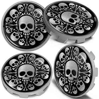 36136783536 Center Caps Hubcaps Black 68mm CBS 0 Biomar Labs 4 x Wheel Centre Alloy Hub Compatible with BMW Part Number