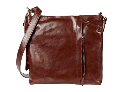 Hobo Drifter (Chocolate) Cross Body Handbags