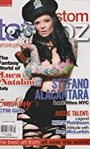 CUSTOM TATTOOZ MAGAZINE #23 2012, AUSTRALIA EDITION STEFANO ALACANTARA.