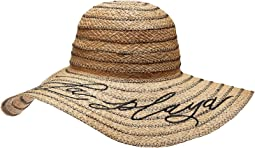 A La Playa Straw Floppy Hat