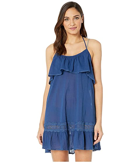 Kate Spade New York Grove Beach Ruffle Cover-Up Dress