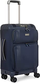 Antler Titus 4W Carry-On Suitcase Softside, Navy, 56 Cm