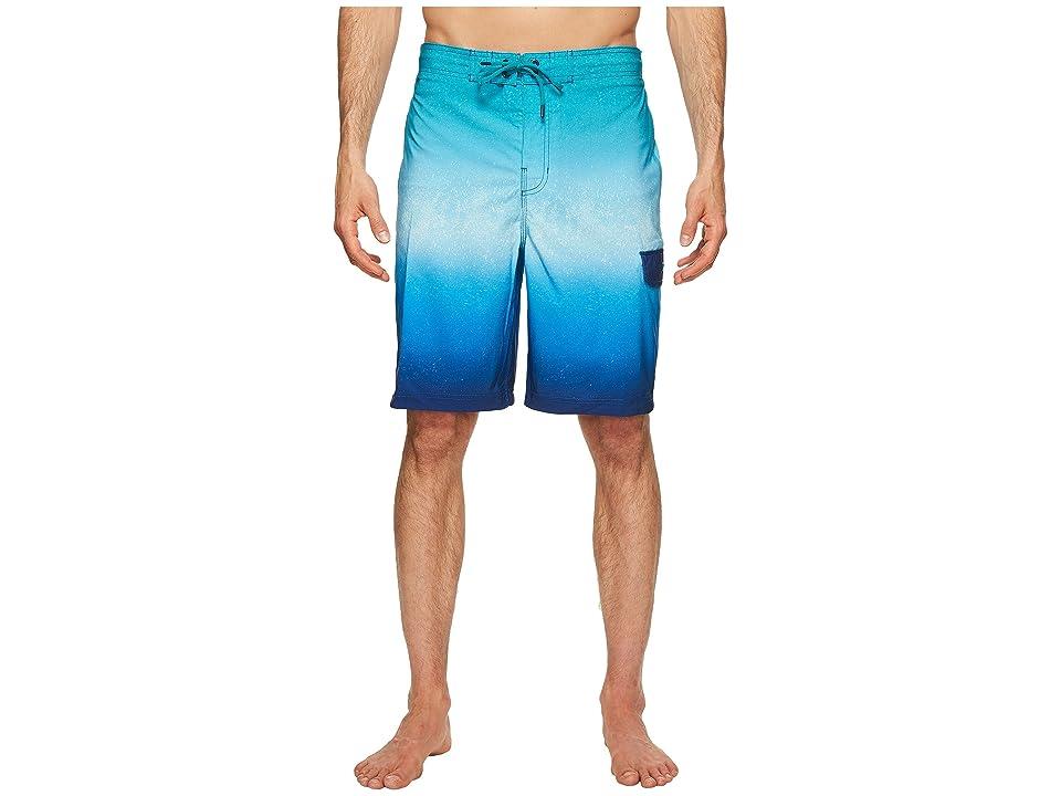 Speedo Spray Blend Ombre E-Boardshorts (Blue) Men