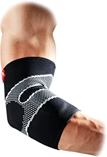 McDavid 5130 - Elbow Support with 4 Way Elastic and Gel Buttresses - Relief Sports Injury Protection