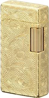 Sarome Flint Cigarette Lighter SD1-56 Gold 0.2μ/5-side arabesque