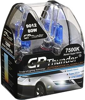GP Thunder GP75-9012 7500K 9012 (HIR2/PX22d) 12V 80W Halogen Xenon Super White Color W/QUAZE Glass (2 Bulbs)