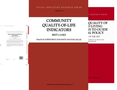 Social Indicators Research (50 Book Series)