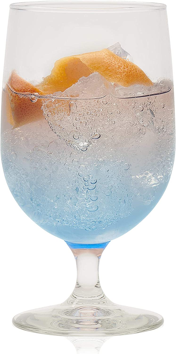 Libbey Montibello Max 55% OFF Iced Tea Special Campaign Goblet Beverage Set of 16 6 Glasses