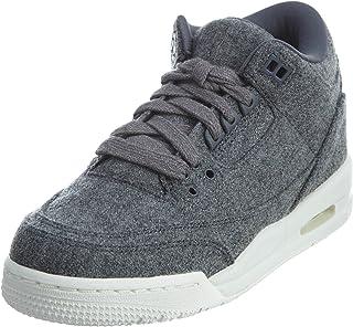 Jordan Boys 3 Retro Wool BG Big Kid Nike Air Mid-Top Sneakers