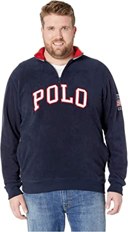 Big & Tall Polar Fleece 1/2 Zip
