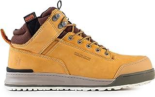Scruffs Switchback Sb-P Men Safety Boots,  Yellow (Tan), 10