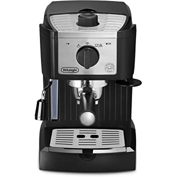 DeLonghi EC157 - Cafetera espresso manual, 1100 W, 1,1 l, acero inoxidable: Amazon.es: Hogar