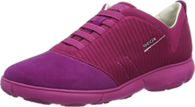 Geox Respira Sneakers da Donna D Nebula G Marrone: Amazon.it