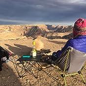 Viajes Senderismo REAYOU Mesa de Picnic Plegable port/átil Mesas de Acampada de Aluminio al Aire Libre con Bolsa de Almacenamiento para Camping Picnic Playa cocinar Pesca S