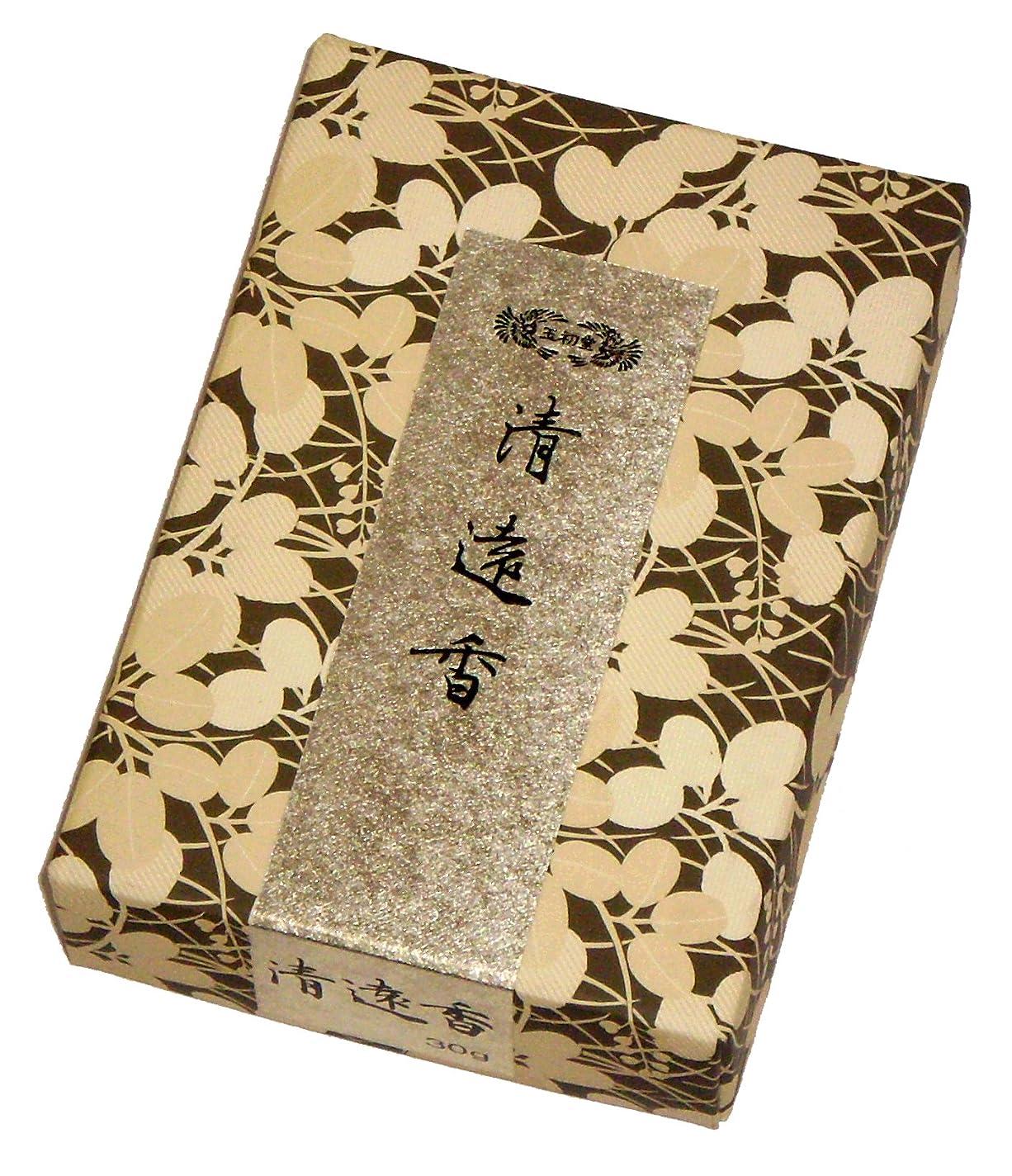 熟したディンカルビルカカドゥ玉初堂のお香 清遠香 30g #605