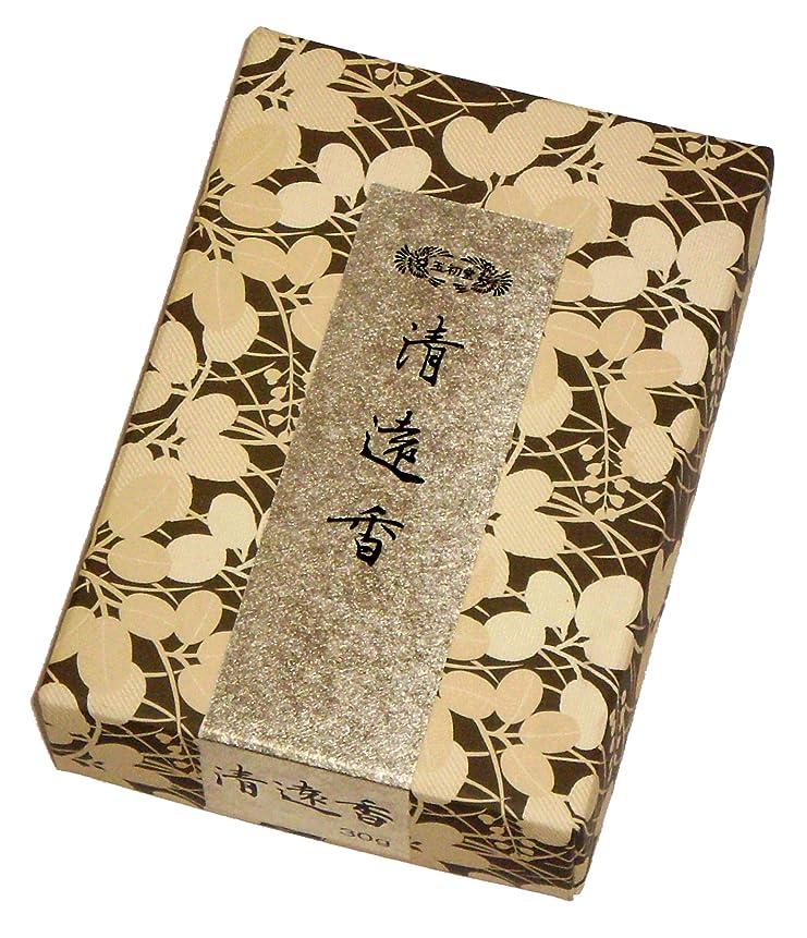 トレイ印をつける申請者玉初堂のお香 清遠香 30g #605