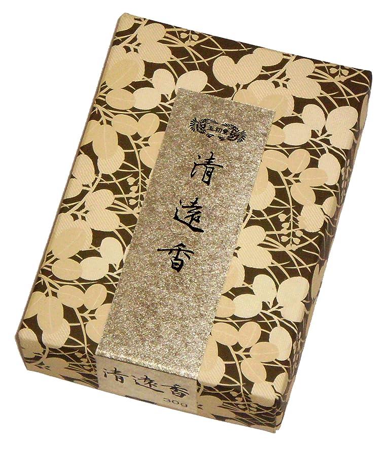 喜ぶ墓地電子レンジ玉初堂のお香 清遠香 30g #605