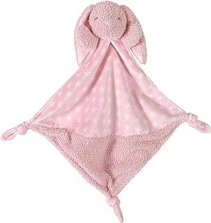 (Pink Bunnie) - Stephan Baby Plush Knotty Animal Security Blankie, Pink Bunnie