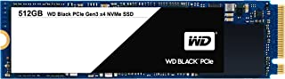 WD Black 512GB Performance SSD - 8 Gb/s M.2 2280 PCIe NVMe Solid State Drive – WDS512G1X0C