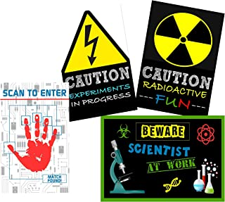 Scientist Science Party Supply Decorations Invites Favors (Poster Decor)