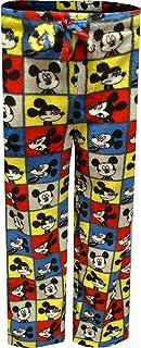Disney Men's Mickey Mouse Plush Fleece Lounge Pants