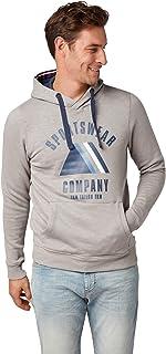 TOM TAILOR Men's Kaputzen Sweatjacke Sweatshirt