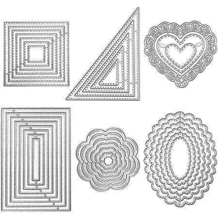 Oval Metal Cutting Dies Scrapbooking Card Making Embossing Cuts Craft Die mold