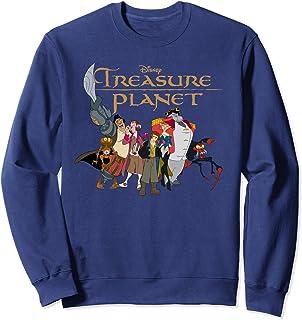 Disney Treasure Planet Logo and Characters Sweatshirt