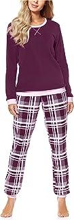 Merry Style Pijama Conjunto Camiseta y Pantalones Mujer MS10